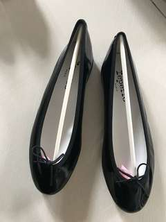 Repetto black flat shoes( brand new)