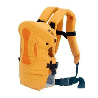 Bebamour 4 in 1 Design Original Front 2 Back Baby Carrier Backpack,0-24 Month (Yellow)