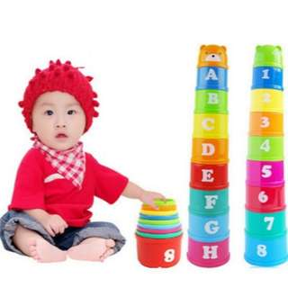(Preorder) toddler Stack up cup