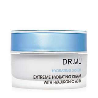 Dr Wu Extreme Hydrating Cream With Hyaluronic Acid 30ml