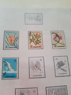 Singapore Stamps for collection