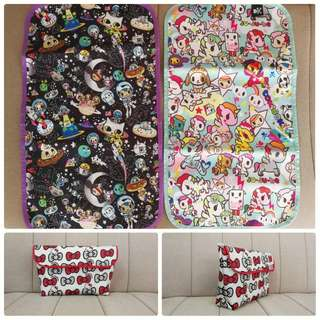 Jujube tote pouch custom made