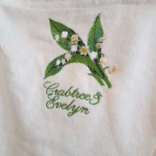 Crabtree Evelyn 運動浴巾
