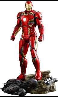 Limited Edition Iron Man MARK XLV Collectible Figure (1:6 Scale)