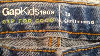 GAP kids girlfriend jeans