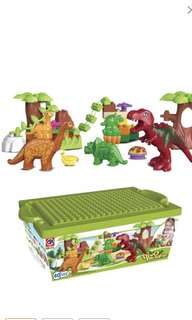 40pcs set of Dino Paradise block set- preorder