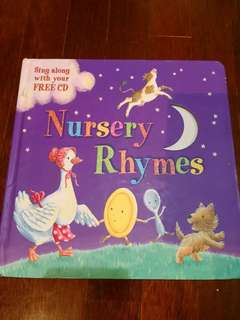 Nursery rhymes boardbook