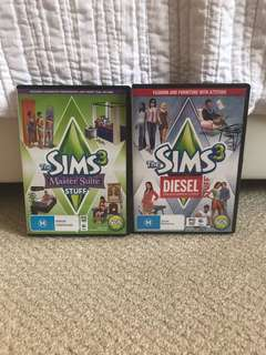 Sims 3 PC Expansion Packs