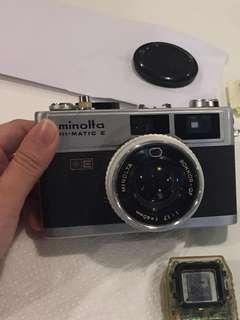 Minolta Hi-Matic E (Vintage 35mm Film Camera)
