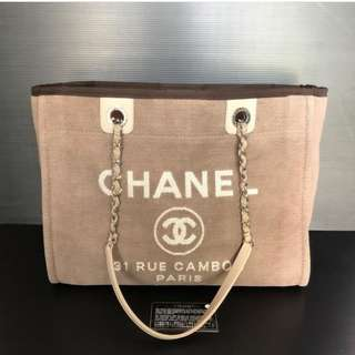 Authentic Chanel Deauville Medium