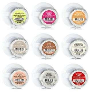 17 different scentpotable from BBW