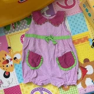BT Kids Watermelon Romper (18M)