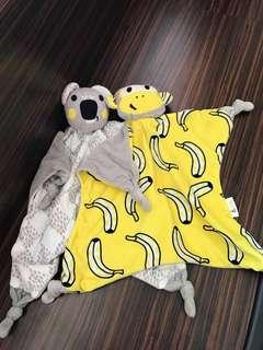 Baby comfort towel