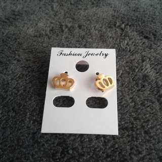 Fancy Earrings Crown