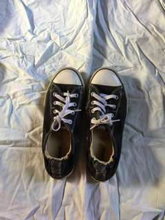 Authentic converse black. From US