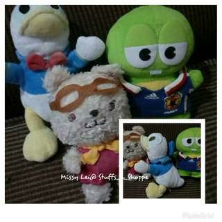 Stuffed Toys-Assorted CharcterS