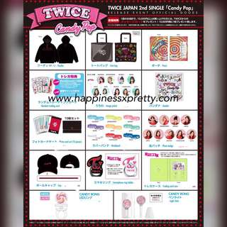 Twice 2nd candy pop MD pre order
