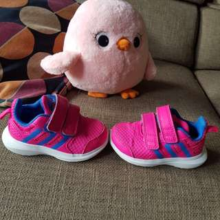 Authentic Pink Adidas Hyperfast 2.0 cf i Eco Ortholite Shoes Pre loved