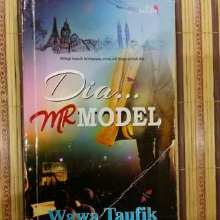 Novel Dia...Mr. Model, Wawa Taufik