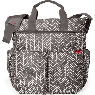 BN Skip Hop Duo Signature Diaper Bags (Gray Feather)