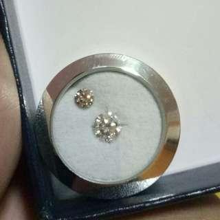 0.3ct Pink diamond