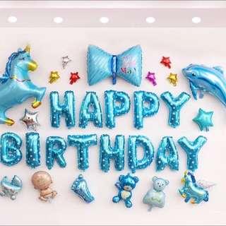 Decoration Happy Birthday Baloon