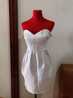 Tomato White Dress