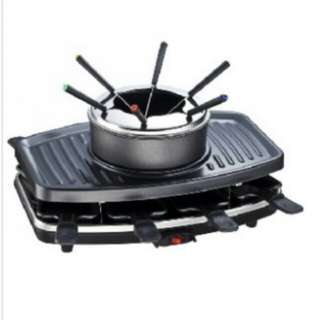 Origo BQ-1288 Barbecue Grill With Swiss Cheese Fondue 燒烤爐連火鍋