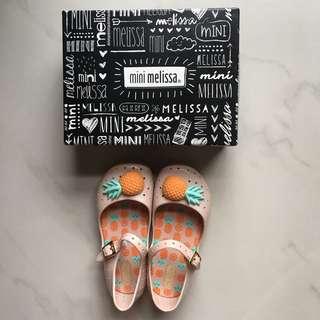 BNWB Mini Melissa Furaddinha Pink/Orange US 10