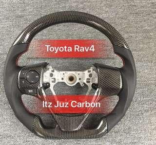 Toyota RAV4 Carbon Steering