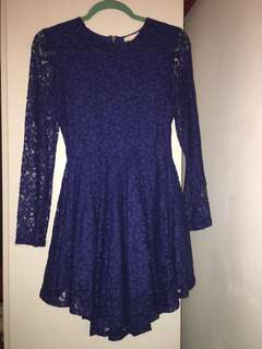 Blue H&M dress size small
