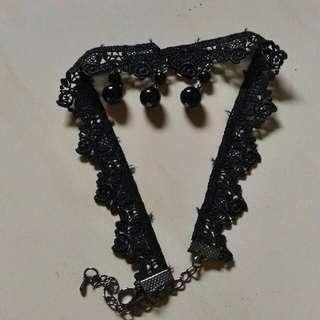 Black Pearl Choker