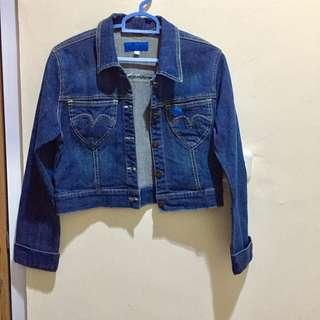 Jaket jeans crop