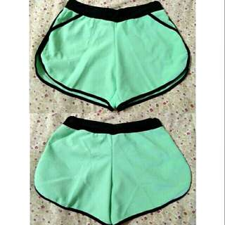 SALE NEW mint green high quality cotton dolphin shorts