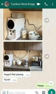 RM60 CUCKOO Water Purifier
