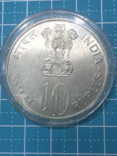 🔥Clearance🔥India Silver Coin 10 Rupees Year 1972