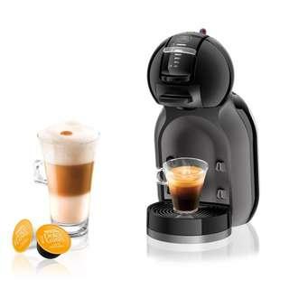 BNIB NESCAFÉ DOLCE GUSTO Mini Me Automatic Coffee System (Piano Black)