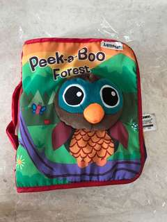 Lamaze Peek a boo forest cloth book