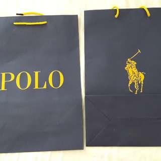 POLO paper bag size 35 x 25