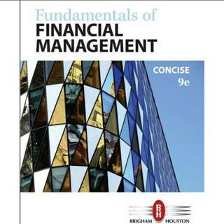 Fundamentals of Financial Management, 9th Edition eBook