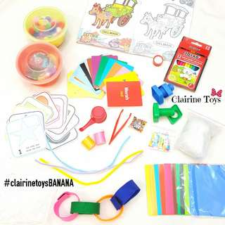 BANANA Series - Activity Bag Clairine Toys