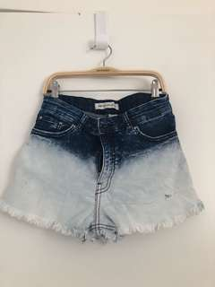 H&M x Coachella ripped shorts