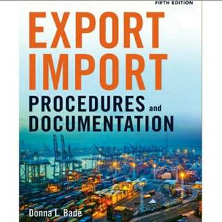 Export/Import Procedures and Documentation, 5th Edition eBook