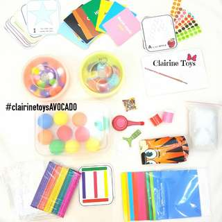 AVOCADO Series - Activity Bag Clairine Toys