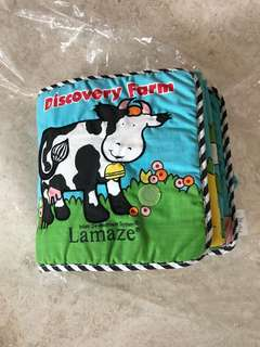 Lamaze Discovery Farm Cloth book