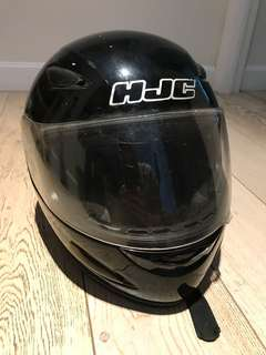 HJC Full-Face Helmet - Large Size