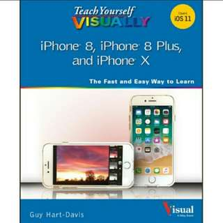 iPhone 8, iPhone 8 Plus, and iPhone X eBook