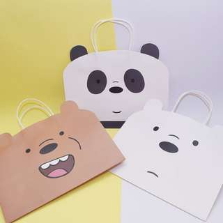 Bare Bears Fancy Paper Bag
