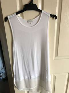 Witchery white singlet top
