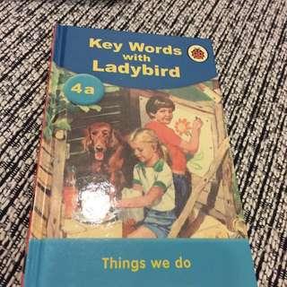 Ladybird 3 books - Peter & Jane (4a, 4b, 4c)